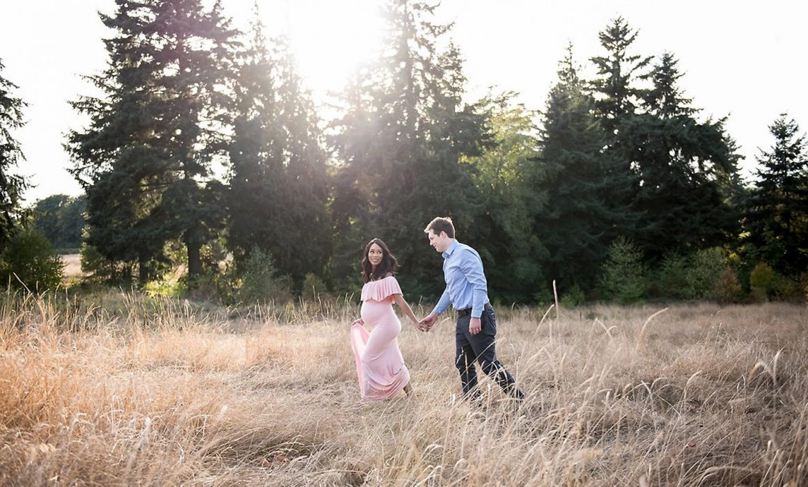 Seattle Maternity Photographer Seattle Maternity Session Discovery Park