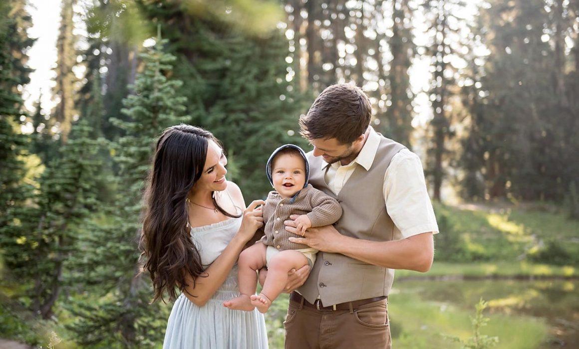 Seattle Tacoma Family Photographer Summer Mount Rainier Session